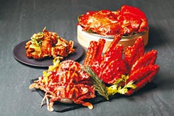 寒舍艾麗LA FARFALLA 感受鮮蟹鮮甜珍味