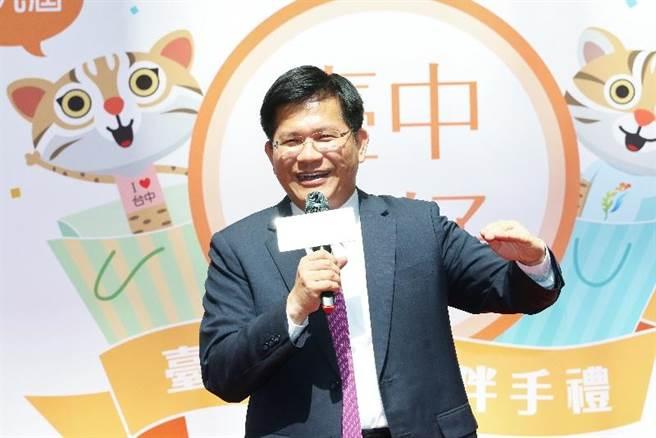 台中十大伴手禮將決選,台中市長林佳龍邀民眾選出「台中WAY」。(盧金足攝)