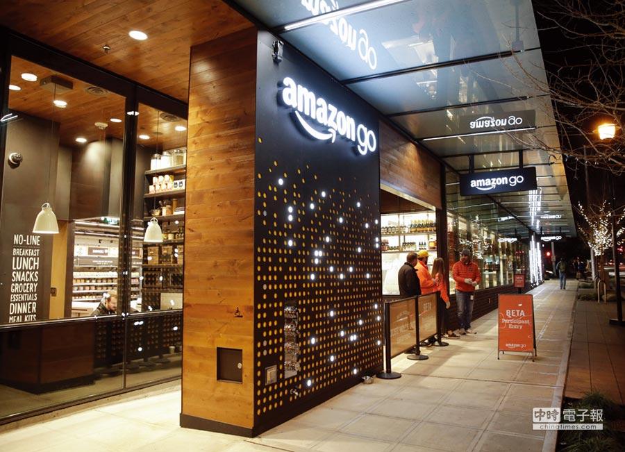 Amazon Go掀開序幕,無人消費商店在世界各地遍燃烽火。圖/路透