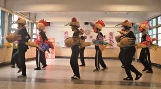 彰化二水鄉海豐老人家開心練跳「雞舞」