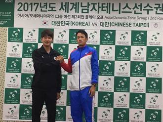 台維斯盃台韓保級大戰 莊吉生將戰韓國一哥