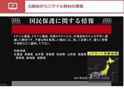 北韓再試射飛彈越過北海道落入太平洋 專家指預料中