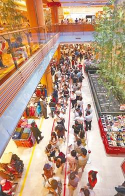 iPhone X 百貨周年慶金雞