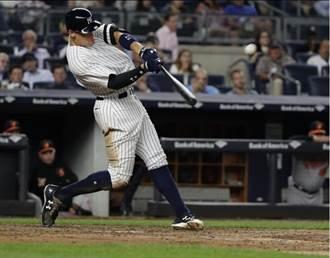 MLB》在家特會轟!賈吉改寫洋基主場最多轟紀錄