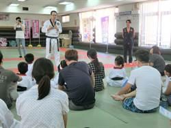 竹縣警局親子防身體驗營 從小學防身術