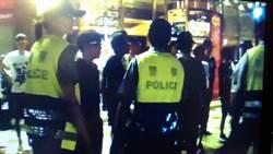 KTV前打群架 警方動用機動打擊部隊壓制