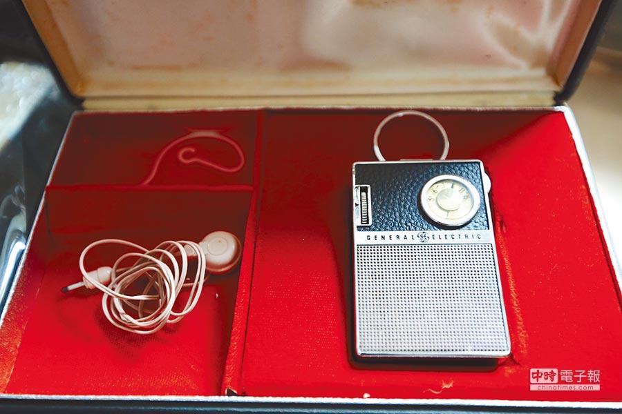 楊子禕曾在天亮前去「鬼市」尋寶。圖為他珍藏的美國GE牌收音機。(CFP)
