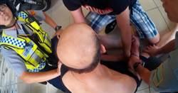 警方逮捕通緝犯 熱血軍校生上前幫忙壓制