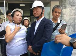 衛福部長視察食安大樓  張花冠:不討錢 討公道