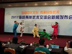 弘揚中華文化 兩岸以武會友