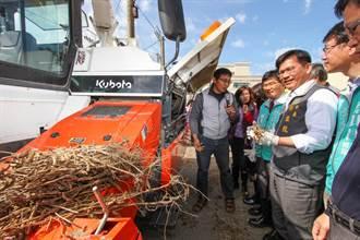 減輕未加入產銷班農民負擔 台中市府加碼補助購置小型農機具