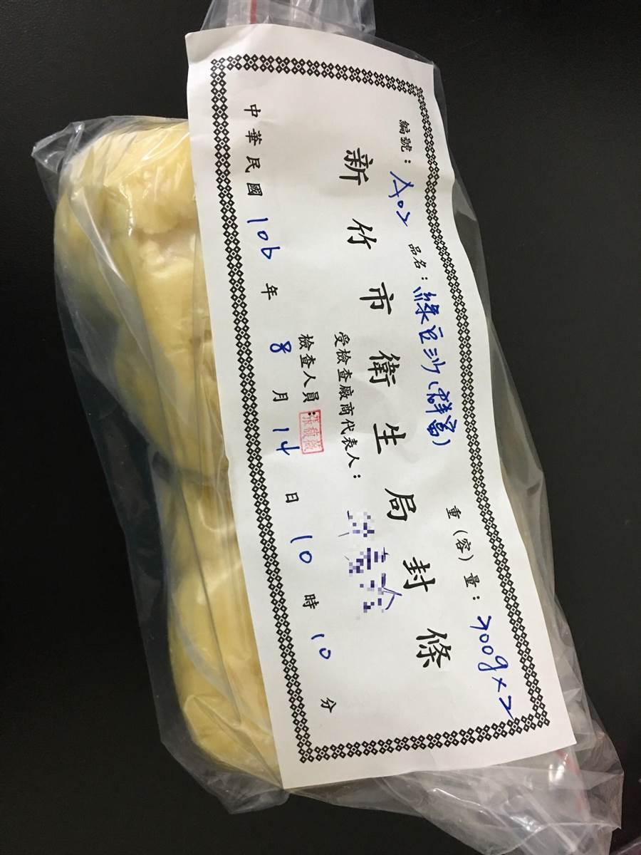 中秋節將至竹市衛生局抽驗相關食品均合格。(陳育賢翻攝)