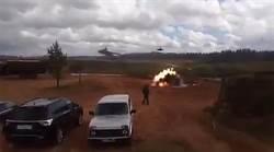 俄國軍演大出包 直升機誤射現場影片曝光