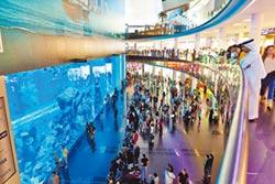 全球最大水族館百貨,成為遊杜拜必去景點之一