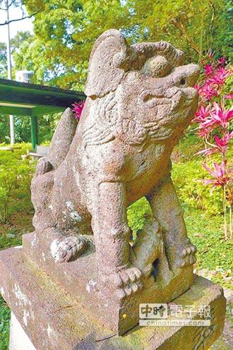 圓山水神社石狛犬登錄古物 加強監管