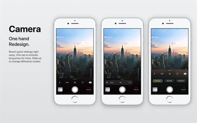 iOS 11之中,不僅針對相機App帶來的全新的濾鏡介面,還有更多的照片編輯功能,也導入了全新的照片格式,可進一步壓縮照片檔所占空間。(圖/翻攝蘋果官網)