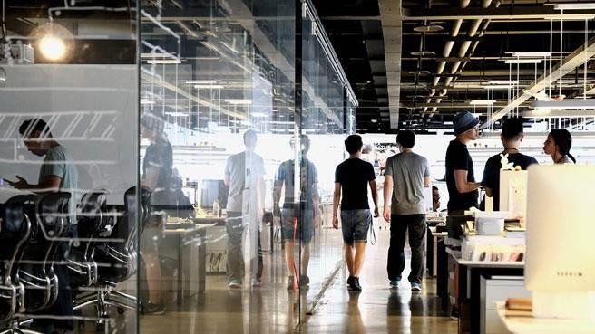 圖為位於宏達電台北總部16樓的HTC設計中心激發創意(3)HTC Design Studio。(宏達電提供/中央社)
