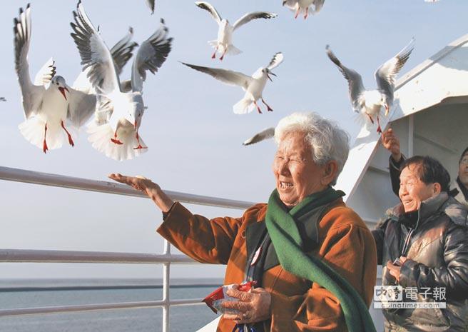 陸客到日本旅遊的熱度不減。(記者王曉鈴攝)