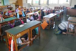 921國家防災日 中市各級學校舉辦防災避難演練