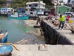 漁村居民的一小步  潔淨海洋的一大步