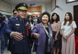 何明洲接任高雄市警局長 宜蘭同鄉陳菊:先前不認識