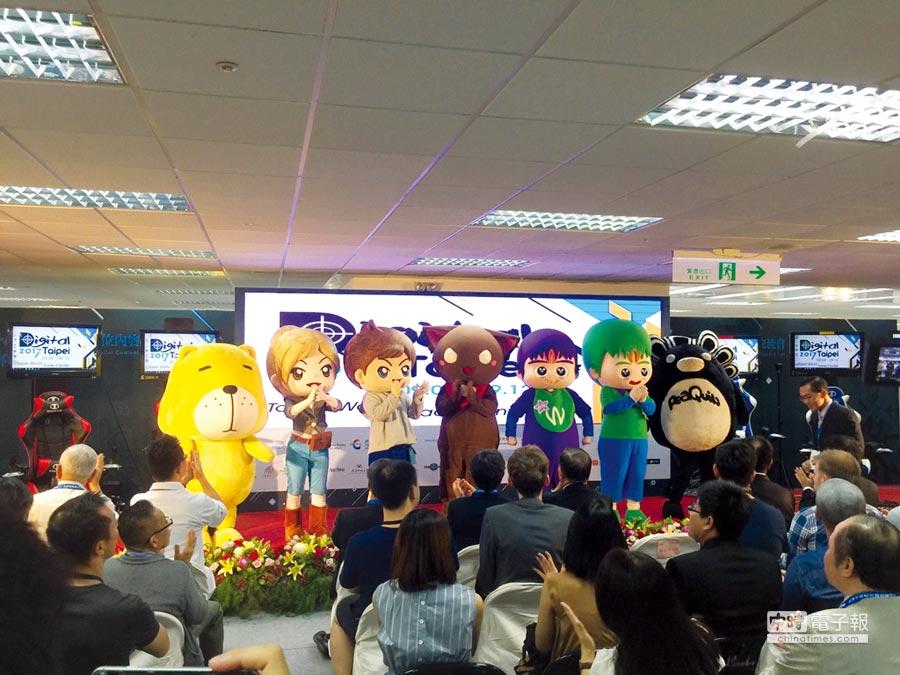 浩平&莎莎角色多元、品牌價值高,獲得多家數位科技開發廠商青睞。圖/江富滿