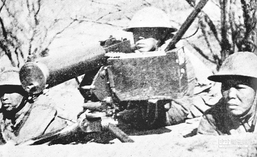 在台兒莊戰鬥中的中國將士。(新華社)