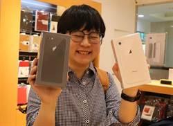 搶iPhone 8 百貨也排隊