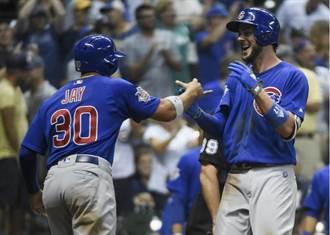MLB》國中龍頭割喉戰 小熊延長開轟勝釀酒人