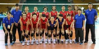 女排世錦資格賽》中華輕取斐濟 預賽2連勝