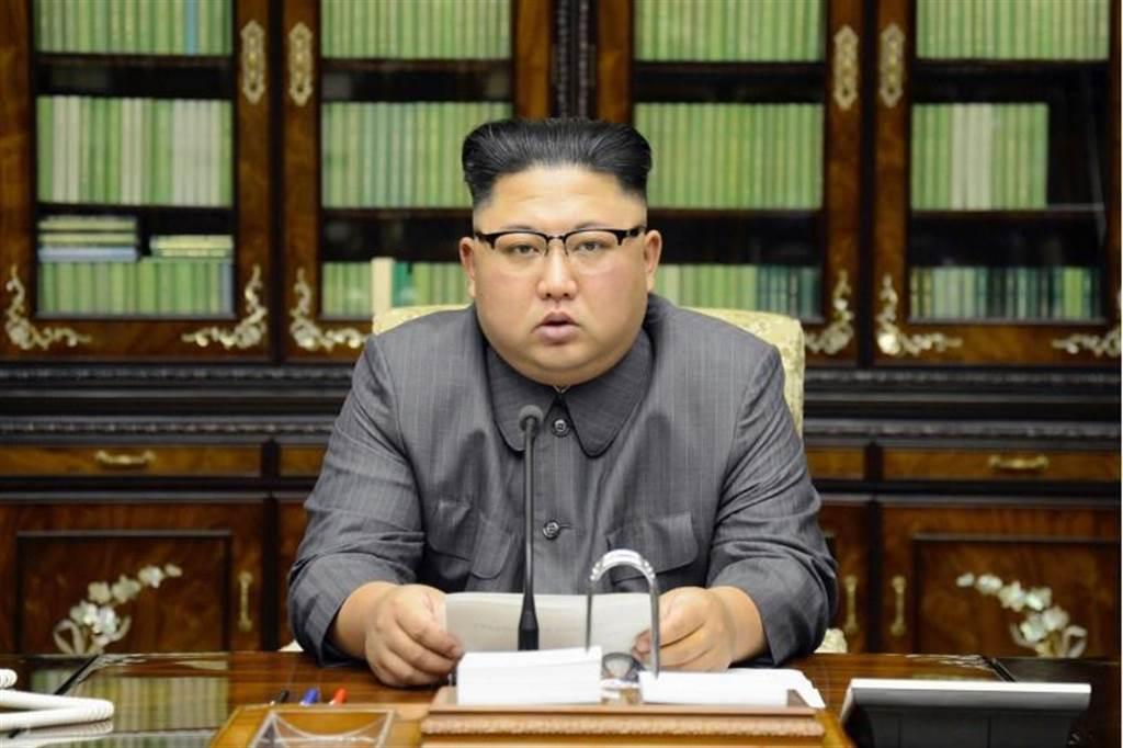 北韓嗆在太平洋爆氫彈。圖為北韓領導人金正恩。(美聯社)