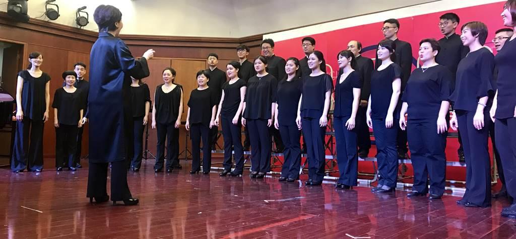 台北室內合唱團成軍25年,受邀上海演出深受肯定的現代音樂。(台北室內合唱團提供)
