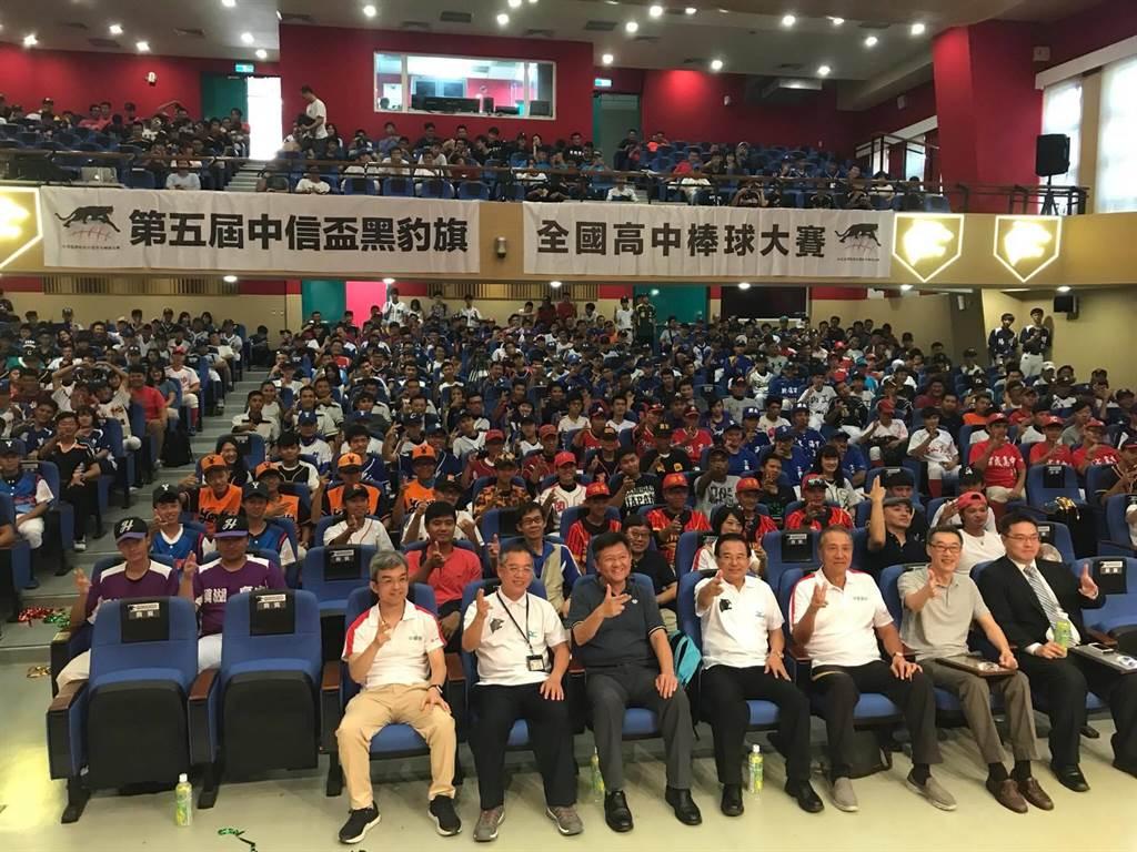 黑豹旗今年吸引到200支球隊參與創下新高。(周鎮宇攝)
