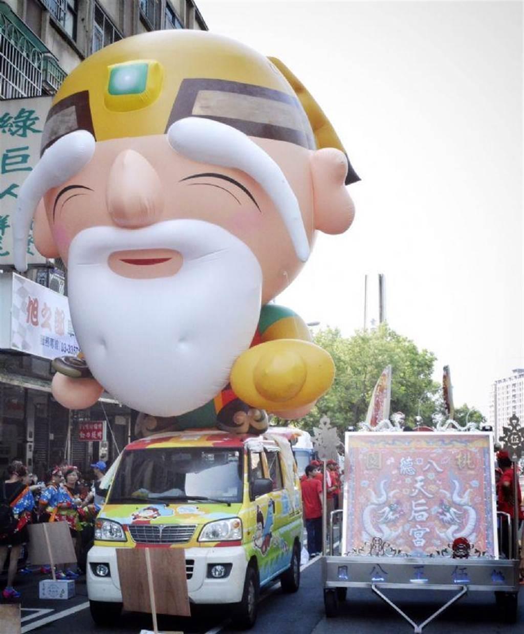 土地公文化節活動23日舉行踩街繞境祈福。(甘嘉雯翻攝)