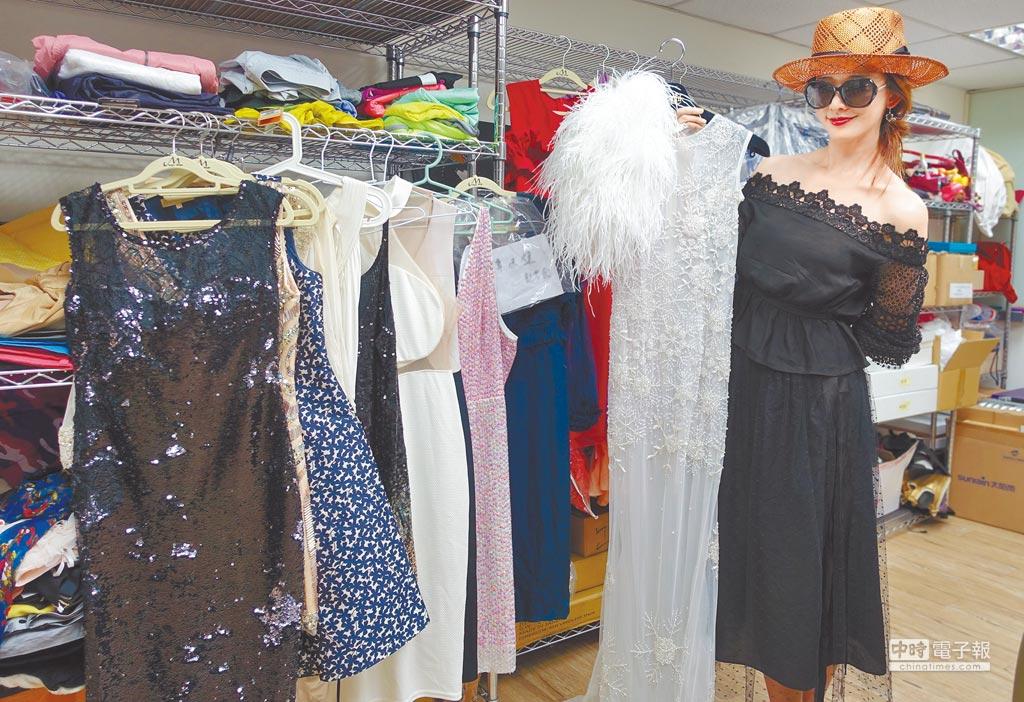林志玲建置專屬二手衣物義賣專區,定期上架超過百件收藏。
