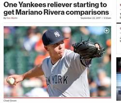 MLB》洋基小將轉牛棚超猛 紐媒:跟李維拉很像