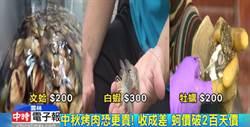 天氣熱收成差!牡蠣每台斤飆破200元