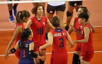 女排世錦資格賽》中華不敵哈薩克 晉級之路危急