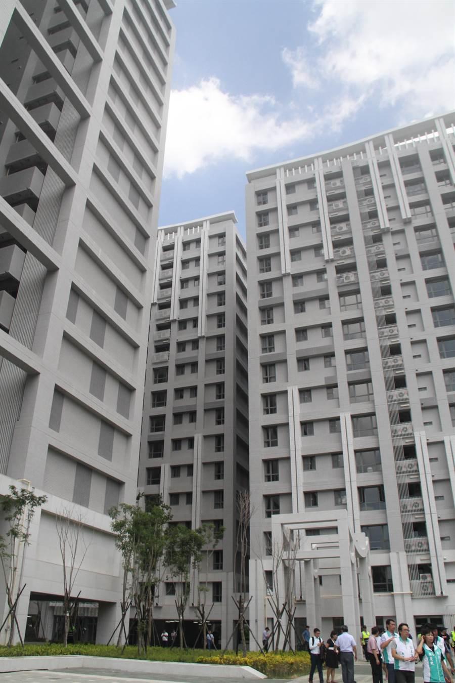 林口世大運選手村社會住宅目前預訂2019年2月交屋。(譚宇哲攝)
