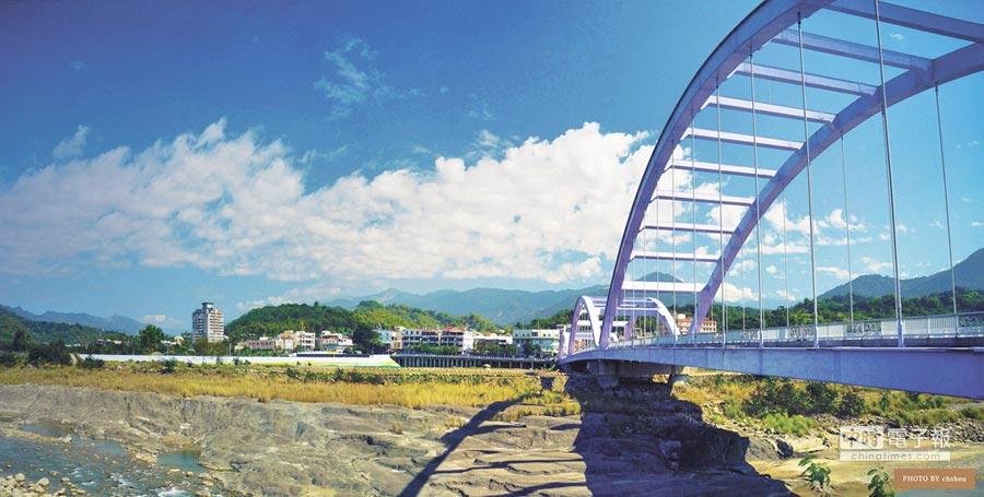 甲仙居民常說:「過了甲仙大橋就到家了。」(好好提供)
