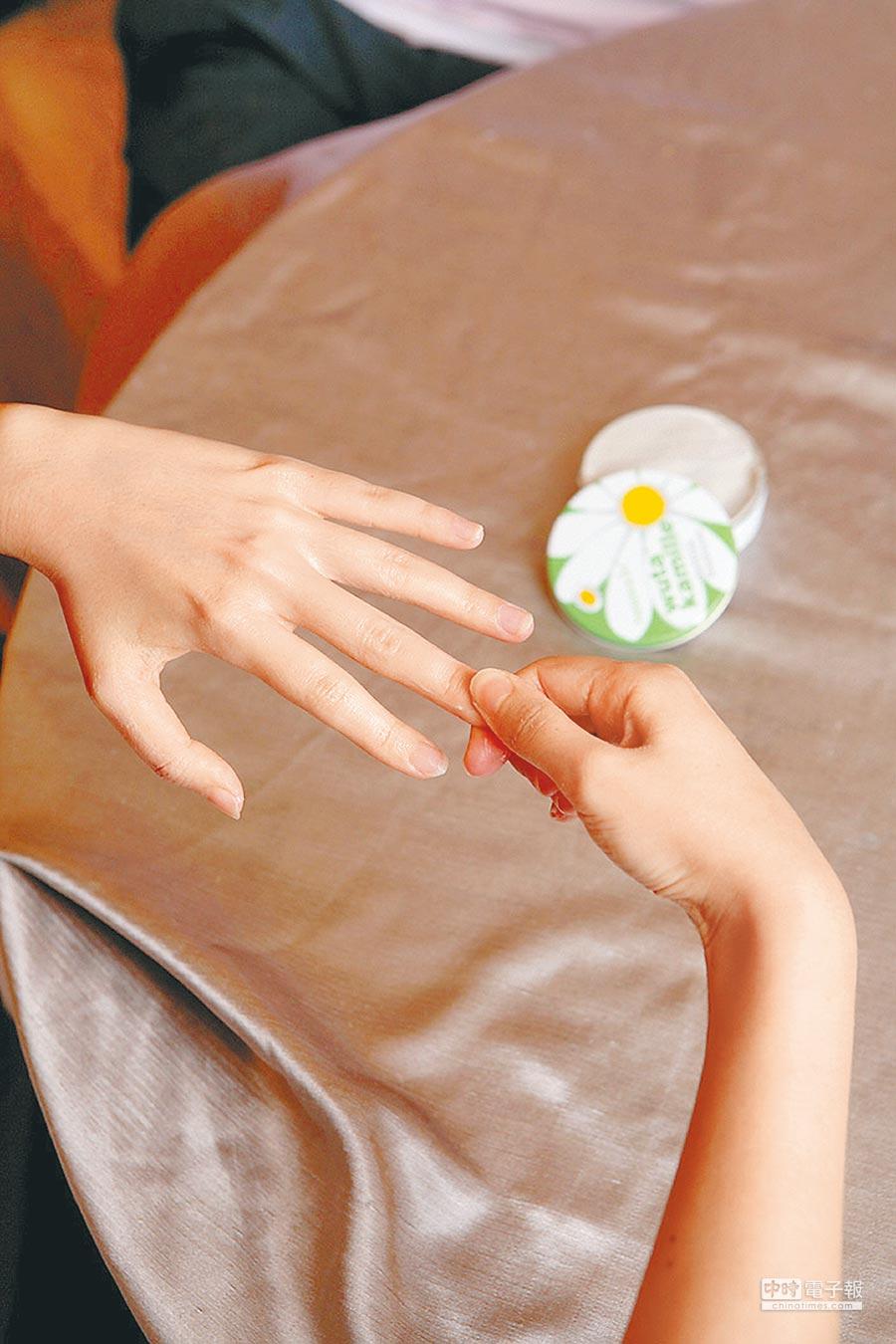 人的五指指尖各有經穴,與內臟有密切關係。(本報系資料照片)