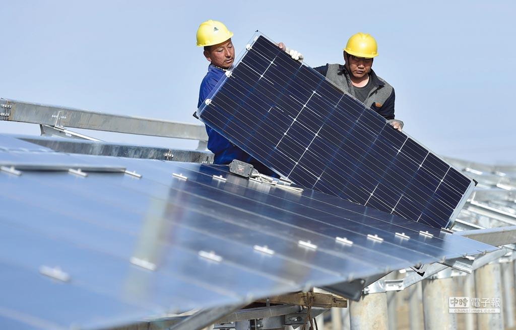 美國ITC認定,外國太陽能板正在傷害美國相關產業。圖/新華社