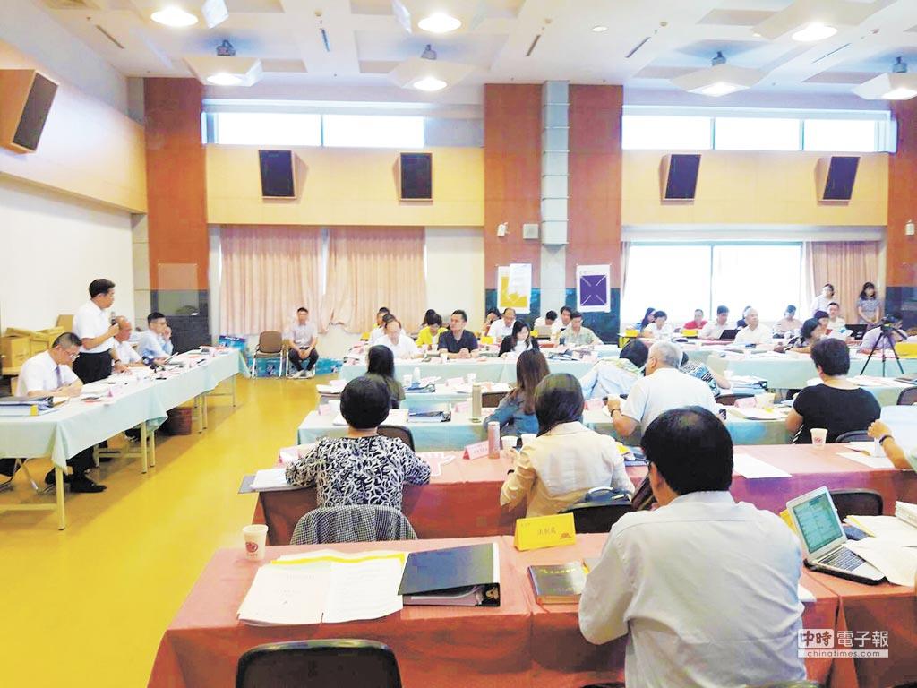 教育部23日上午召開課程審議會大會,部分委員對10日的文言文比率結論提出程序質疑。(教育部提供)