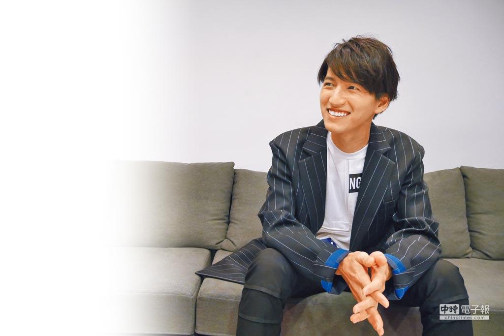田口淳之介目前朝全方位發展,希望盡快來台和粉絲見面。