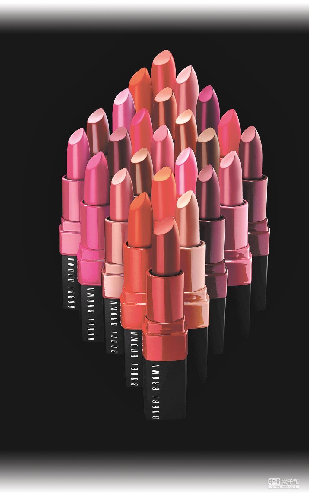 20色玫瑰Pantone色迷戀輕吻唇膏3.4g/1050元圖片提供Bobbi Brown