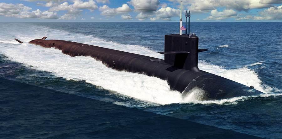 美國將要以12艘哥倫比亞級戰略潛艦,替換14艘現役的俄亥俄級。(圖/美國海軍)