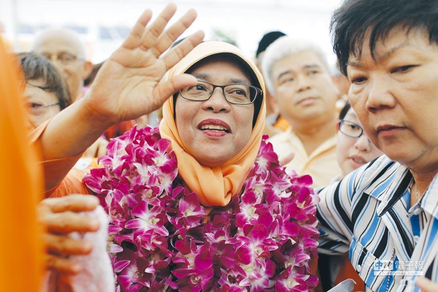 新加坡首位女總統圖╱美聯社