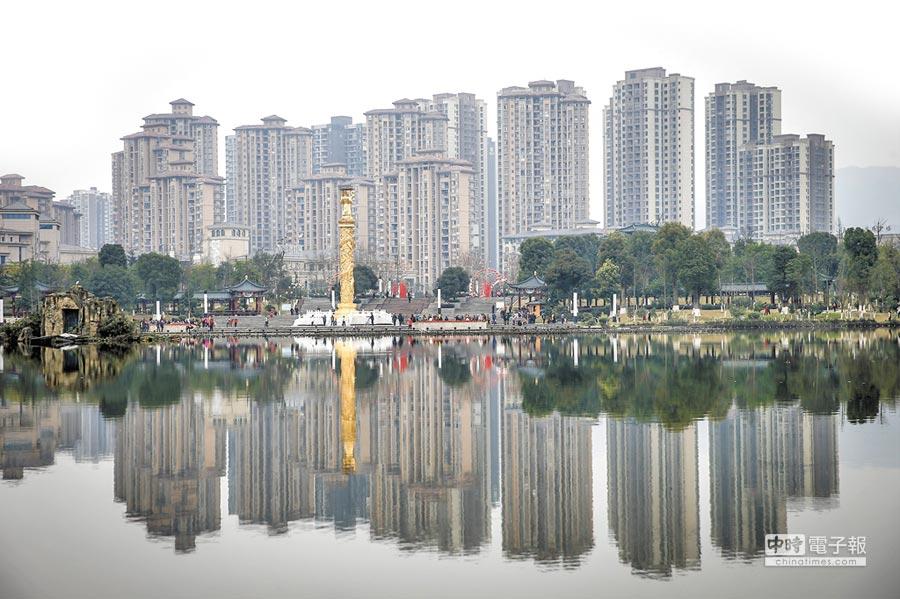 大陸樓市調控升級,南昌、重慶、南寧、長沙等7城限售。圖為重慶一處樓房。(中新社資料照片)