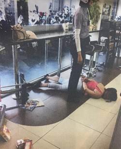 婦偷喝膠原蛋白被逮 隔週砸店報復