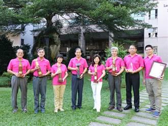 中山工商30餘年來 8位教師獲師鐸獎殊榮